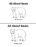 All About Bears Booklet