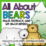 Bears: Math, Literacy, and SO Much More!