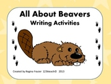 All About Beavers, Writing Prompts, Graphic Organizers, Diagram