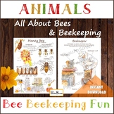 All About Bees & Beekeeping - Anatomy, Life Cycle, Honeyco