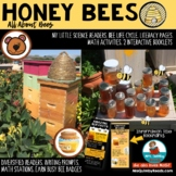 All About Bees - Literacy and Math- Interactive Readers -