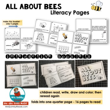 All About Bees | Literacy and Math | Interactive Readers | Diversified Reading