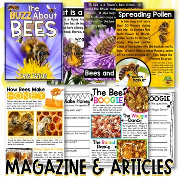 All About Bees for Young Learners
