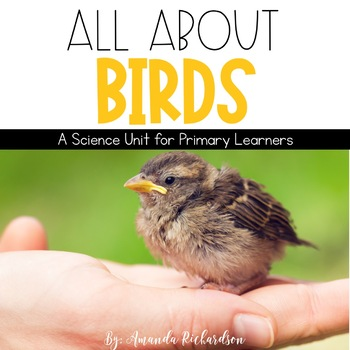 Birds Unit: Life Cycle, Facts, Interactive Notebook Pages