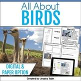Birds Nonfiction Unit