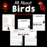 All About Birds: Writing Templates