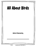 All About Birds booklet