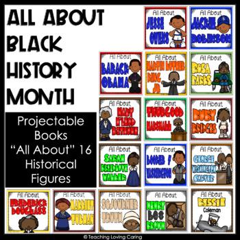 All About Black History Bundle: 12 Historical Figures in Black History