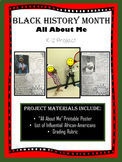 All About Black History Month Project