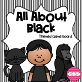 All About Black Themed Game Board