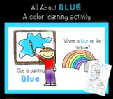 All About Blue - Color Activity Sheet