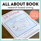 Informative writing for First Grade: All About Book