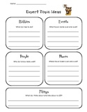 """""""All About"""" Book Planning Pages"""