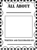 All About ... Book Template