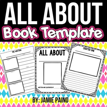 All About Book- Template & Packet