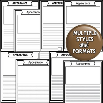 Informational Writing Report Templates