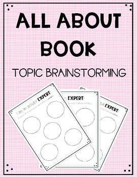 All About Book Topic Brainstorming