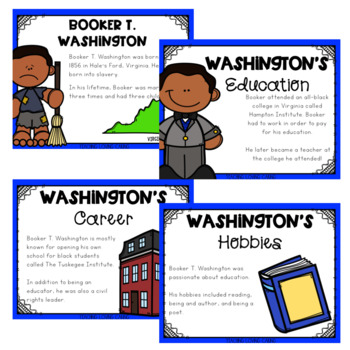 All About Booker T. Washington - Black History Month