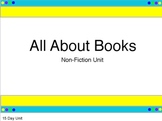 All About Books: 15 Day Writer's Workshop Unit (Promethean Board Presentation)