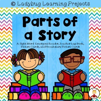 All About Books (3 Sight Word Emergent Readers and 3 Lap Books Bundle)