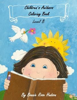 Children's Authors Coloring Book-Level B