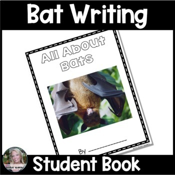 All About Books K-2 {Lesson Plans and Templates} All About Bats Featured
