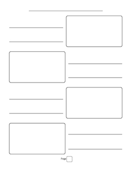 All About Books, Informational Writing - Page Templates