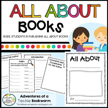 All About Books Writing Template by Adventures of a Techie Bookworm