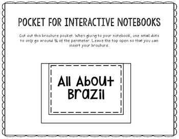 Brazil - Research Project - Interactive Notebook - Government - Mini Book