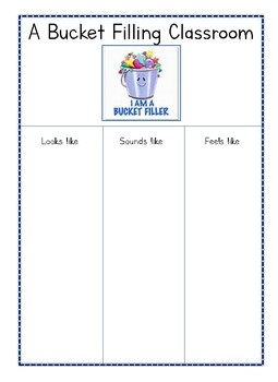 All About Bucket Fillers
