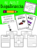 All About Bugs/Insects Informational Journal