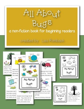 All About Bugs a non fiction book for beginning readers