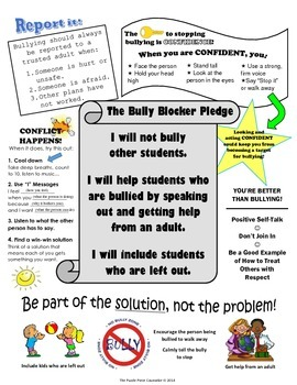 All About Bullying Student Handout