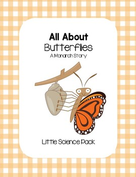 All About Butterflies (A Monarch Story) - Little Science Pack