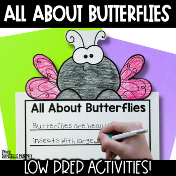 Butterfly Life Cycle Unit for Kindergarten First Second Grade