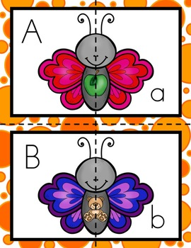 All About Butterflies Literacy Centers for Preschool, PreK, K, & Homeschool