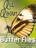 All About Butterflies {Non-Fiction Research and Activities}