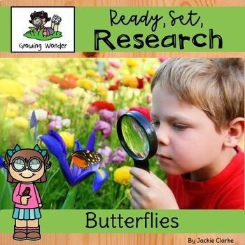 All About Butterflies (Nonfiction Informational Writing Animal Research Project)