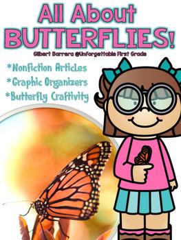 All About Butterflies {Nonfiction Unit}