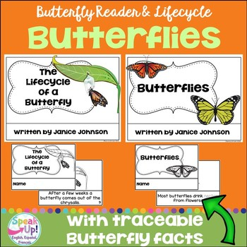 All About Butterflies Reader & Butterfly Lifecycle