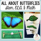 Butterfly Life Cycle - STEM, Poem, Nonfiction, Math, Retelling Crafts & More!