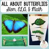Butterfly Life Cycle - STEM, Poem, Nonfiction, Math, Retel