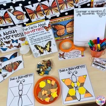 All About Butterflies - Science for Little Learners (preschool, pre-k, & kinder)