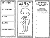 All About C.S. Lewis - Biography Research Project - Interactive Notebook