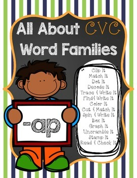 All About CVC Word Families -AP