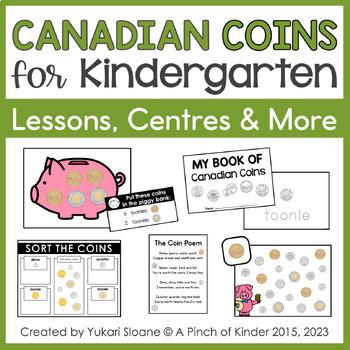 canadian coins for kindergarten centres printables more tpt. Black Bedroom Furniture Sets. Home Design Ideas