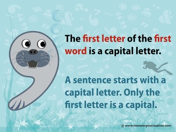 All About Capital Letters and Periods