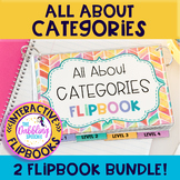 All About Categories Flipbooks- Category Activities To Build Language