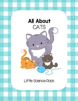 All About Cats - Little Science Pack