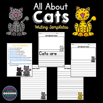 All About Cats: Writing Templates